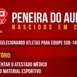 Nova peneira do Grêmio Osasco Audax!