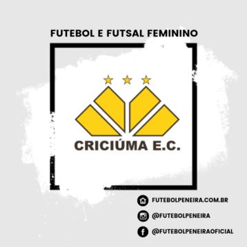 Criciúma EC divulga peneiras de Futsal e Futebol para o FEMININO!