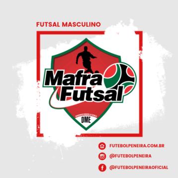 Mafra Futsal divulga peneira em 2019!