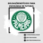 S.E Palmeiras divulga peneiras para escolinha de futebol (Sede-Pompeia)!