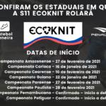 Penalty S11 Ecoknit estará presente em 8 estaduais!