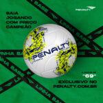 Conheçam as bolas da linha  FÚRIA XXI da Penalty!