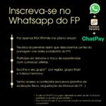 Inscrevam-se no Whatsapp do FP!